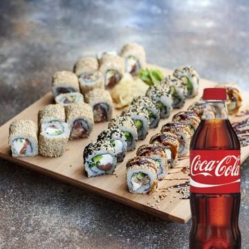 Кунжут Сет + Coca-Cola 0.5 л