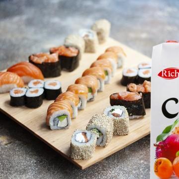 Сет Японика + сок Rich 1 л (в асс.)